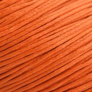 Oranje Waxkoord oranje 1mm - 10 meter