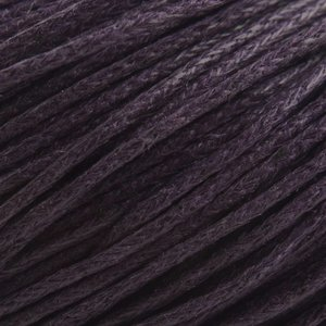 Paars Waxkoord donker paars 1mm - 10 meter