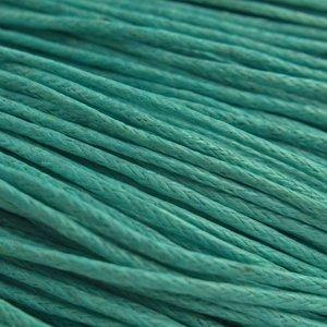 Paars Waxkoord turquoise groen 1mm - 10 meter