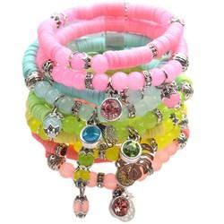 Spring & Summer Disc Armbanden