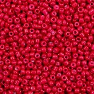 Rood Rocailles glas Carmine red 12/0 (2mm) - 20 gram