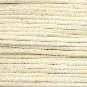 Bruin Waxkoord metallic Sand beige 0,5mm - 10 meter