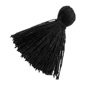 Zwart Kwastje basic Black 20mm
