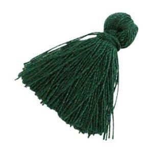 Groen Kwastje basic Dark green 20mm