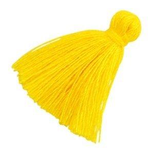 Geel Kwastje basic Yellow 20mm