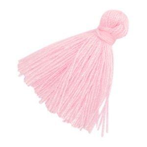 Roze Kwastje basic Light pink 20mm
