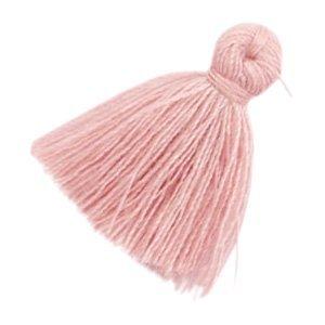 Roze Kwastje basic Antique pink 20mm