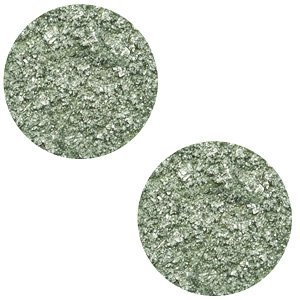 Groen Cabochon polaris Goldstein Chinois green grey 12mm