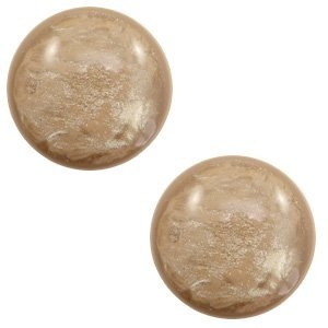 Bruin Polaris cabochon Lively Colonial brown 7mm