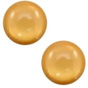 Bruin Polaris cabochon soft tone shiny Camel brown 7mm