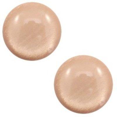 Bruin Polaris cabochon soft tone shiny Rosy brown 7mm