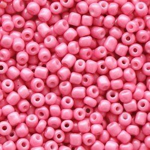 Roze Rocailles glas Rouge pink 12/0 (2mm) - 20 gram
