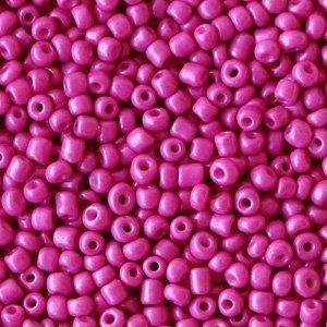 Roze Rocailles glas Garnet pink-purple 12/0 (2mm) - 20 gram