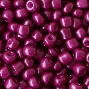 Paars Rocailles glas Port purple 6/0 (4mm) - 20 gram