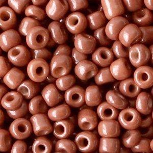 Bruin Rocailles glas Cedar brown 6/0 (4mm) - 20 gram