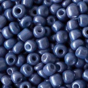 Blauw Rocailles glas Clematis blue 6/0 (4mm) - 20 gram
