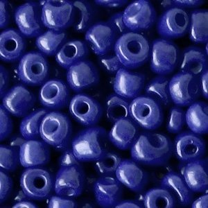 Blauw Rocailles glas Spectrum blue 6/0 (4mm) - 20 gram