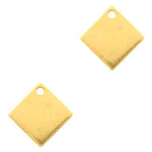 Goud Bedel vierkant Goud DQ 10mm