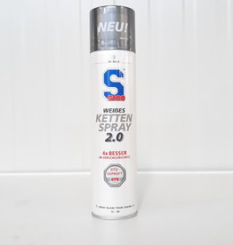 S100 CHAIN SPRAY WHITE 2.0