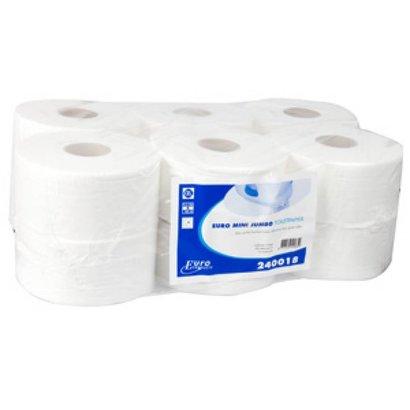 CleanFresh mini jumbo rol cellulose 12 x 180 mtr