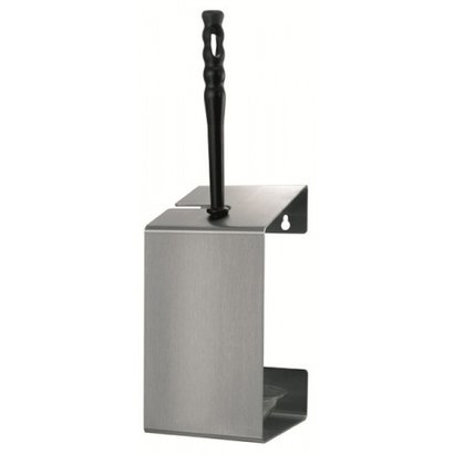 MediQo-line Toiletborstelhouder RVS