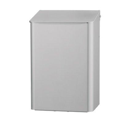Dutch Bins Afvalbak 6 liter aluminium