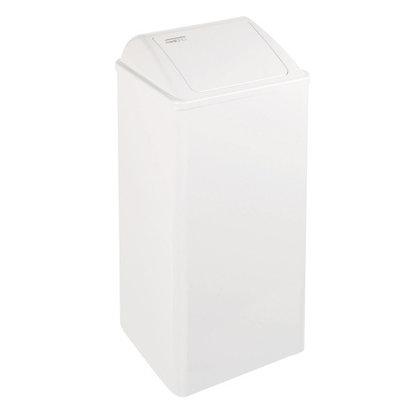 Dutch Bins Afvalbak gesloten 80 liter wit