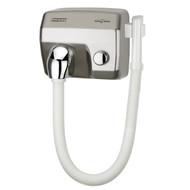 Mediclinics Mediclinics Haardroger drukknop RVS look met slang