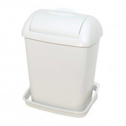PlastiQline Plastiqline Mini hygiënebak compact model wit