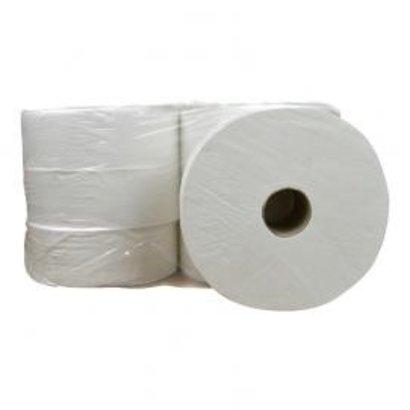 CleanFresh Toiletpapier Maxi Jumbo cellulose 2 laags 6 x 380 meter in folie