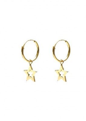 Karma Jewellery SYMBOL HOOPS STAR