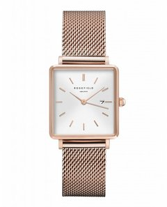 Rosefield THE BOXY - WHITE SUNRAY / ROSE GOLD