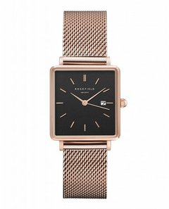 Rosefield THE BOXY - BLACK / ROSE GOLD