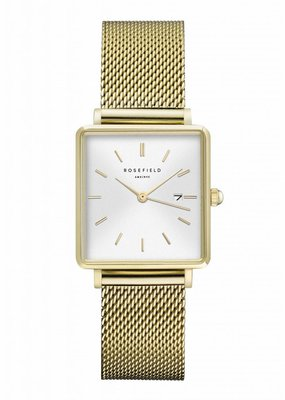 Rosefield THE BOXY - WHITE / GOLD