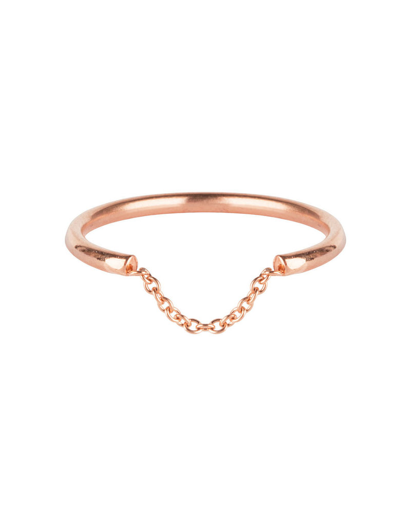 Charmins CHARMINS CHAINED ROSE GOLD