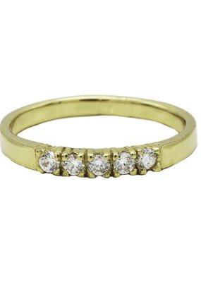 Karma Jewellery RING ZIRCONIA