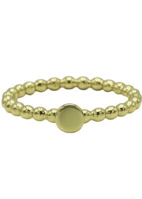 Karma Jewellery RING ZEGEL ROND