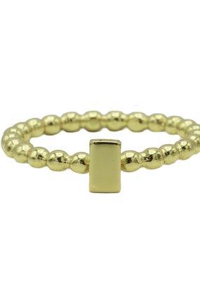 Karma Jewellery RING ZEGEL RECHTHOEK