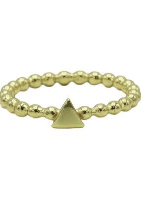 Karma Jewellery RING ZEGEL DRIEHOEK