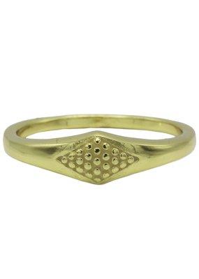 Karma Jewellery RING ZEGEL RUIT