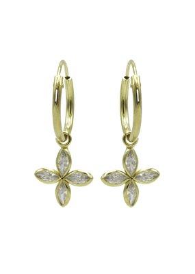 Karma Jewellery OORBEL BLOEMETJE