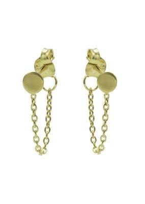 Karma Jewellery OORBEL CHAIN RONDJE