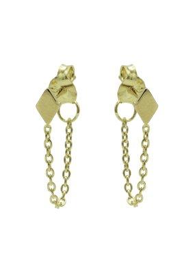 Karma Jewellery OORBEL CHAIN RUITJE