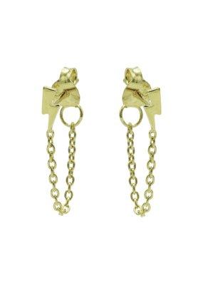 Karma Jewellery OORBEL CHAIN BLIKSEM