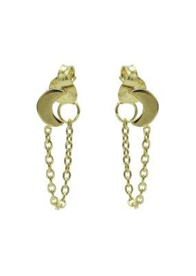 Karma Jewellery OORBEL CHAIN MAANTJE