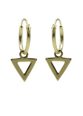 Karma Jewellery HOOP DRIEHOEK OPEN
