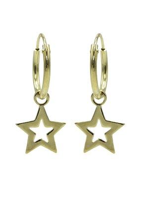 Karma Jewellery HOOP STER OPEN