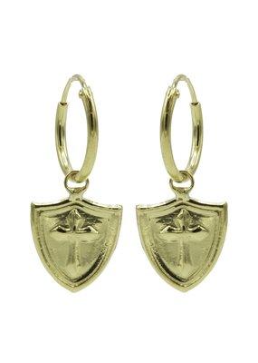 Karma Jewellery HOOP ZEGEL KRUIS