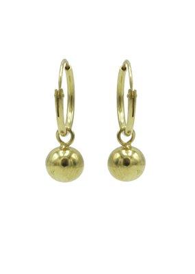 Karma Jewellery HOOP BOLLETJES