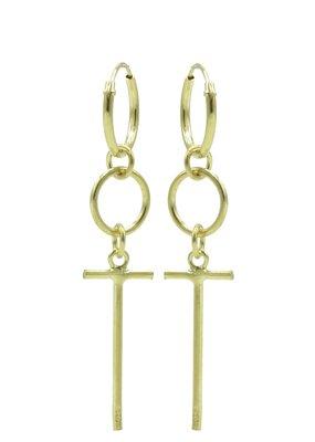 Karma Jewellery HOOP KRUIS HANGER